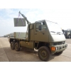 Mowag Duro II 6x6 LHD crane trucks | used military vehicles, MOD surplus for sale