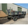 Kassbohrer 2 axle draw bar cargo trailer for sale in Africa