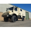 Mercedes Unimog U1300L 4x4 cargo van LHD for sale