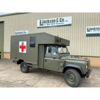 Land Rover 130 Defender Wolf Ambulance | EX.MOD sales
