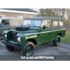 Land Rover Series III 109 -LHD LWB soft tops (Petrol)