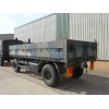 Kassbohrer 2 axle draw bar cargo trailer