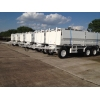 Schmitz tri axle draw bar trailer   ex military for sale