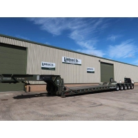 King GTL 93/5HS 5 Axle Low Loader Trailer  for sale Military MAN trucks