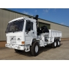 Volvo FL12 6x6 tipper with protected cab  military for sale