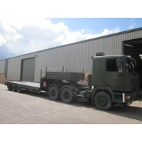 Broshuis Low Loader Trailer