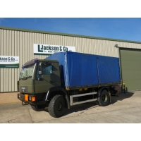 MAN 10.185 4x4 drop side cargo trucks for sale