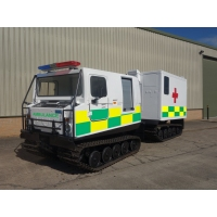 Hagglund Bv206 hard top Ambulance  for sale Military MAN trucks