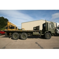 Volvo FL12 6x6  chassis cab