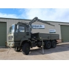 Man 27.314 6x6 LHD Drop side cargo truck with crane
