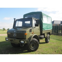 Mercedes Unimog U1300L 4x4 Shoot Vehicle  for sale