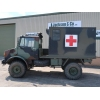 Mercedes Unimog U1300L turbo 4x4  Ambulance   RHD   ex military for sale
