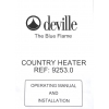 Deville - Multi Fuel Heater   for  sale in Angola, Kenya,  Nigeria, Tanzania, Mozambique,