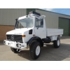 Mercedes Unimog  U1300L 4x4 Drop Truck with A/c for sale