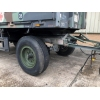 Schmitz 2 Axle Draw Bar Cargo Trailer  for sale Military MAN trucks