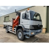 Mercedes Atego 1828 4x4 Crane Truck - MOD and NATO Disposals