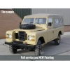 Land Rover Series III 109 -LHD LWB soft tops (diesel)