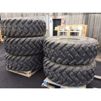Michelin 20.5R25 XTL unused on rims
