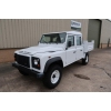 New Land Rover Defender 130 LHD Double Cab Pickup Ex military vehicles for sale, Mod Sales, M.A.N military trucks 4x4, 6x6, 8x8, used trucks for sale, MOD sales, the UK, Doncaster