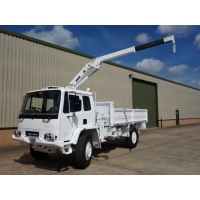 Leyland Daf 4x4 RHD crane truck  for sale