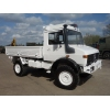 Mercedes Unimog  U1300L 4x4 Drop Truck with A/c  military for sale