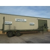 Broshuis Low Loader Trailer   ex military for sale