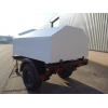 Trailer tanker with new 1500 litre bunded tank  military for sale