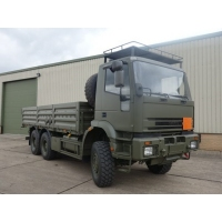 Iveco 260E37 EuroTrakker   6x6 cargo flat bed trucks for sale