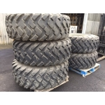 Michelin 20.5R25 XTL unused on rims  military for sale