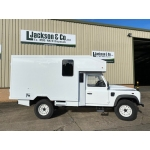 Unused Land Rover Defender 130 RHD Box Vehicle | Off-road Overlander military
