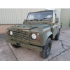 Land Rover Defender 90 RHD Wolf Soft Top (Remus) - MOD and NATO Disposals