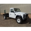 Land rover 130 LHD chassis cabs  for sale Military MAN trucks