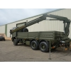 Iveco Eurotrakker 6x6 Cargo truck With Rear Mounted Crane | used military vehicles, MOD surplus for sale