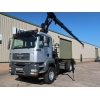 MAN TGA 26.400 6x4 Hook Loader With Crane | used military vehicles, MOD surplus for sale