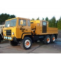 Scania SBA111 A134 6x6 Drop Side Cargo Truck for sale