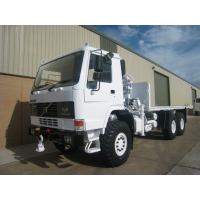 Volvo FL12 6x6  cargo platform truck for sale in Africa