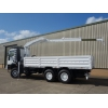 Iveco 260E37 Eurotrakker LHD 6x6 Drop Side truck with HMF crane | 
