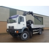 Man LE18.220 4x4 crane truck for sale in Africa