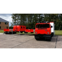 Hagglund Bv206 with Twist Locks