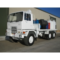 Bedford TM 6x6 Lube Truck with Atlas 3500kg hydraulic crane for sale