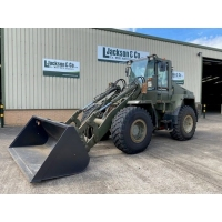 Case 721 CXT wheeled loader with bucket for sale
