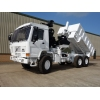 Volvo FL12 6x6 tipper with protected cab