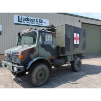 Mercedes Benz Unimog U1300L 4x4 Medical Ambulance