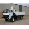 Iveco Magirus 110-16 4x4  truck with crane HIAB 965-90 Ex military vehicles for sale, Mod Sales, M.A.N military trucks 4x4, 6x6, 8x