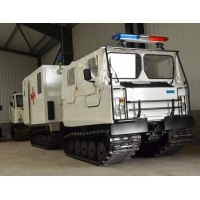 Hagglund Bv206  soft top ambulance  for sale Military MAN trucks