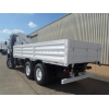 Iveco 260E37 Eurotrakker LHD 6x6 Drop Side truck with HMF crane