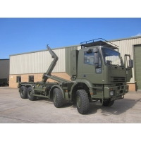 Iveco 410E42 EUROTRAKKER  8X8 LHD hook loader with multilift system for sale