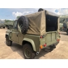 Land Rover Defender 90 Wolf RHD Soft Top (Remus) - MOD and NATO Disposals