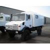 Mercedes Unimog U1300L 4x4 cargo van LHD  for sale Military MAN trucks