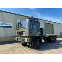 MAN 27.314 6X6 Flat bed cargo truck for sale